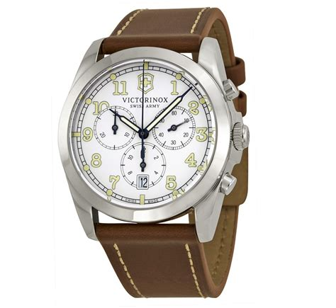 Swiss Army Doubleclock Lightbrown top 6 so cheap the won t notice watches