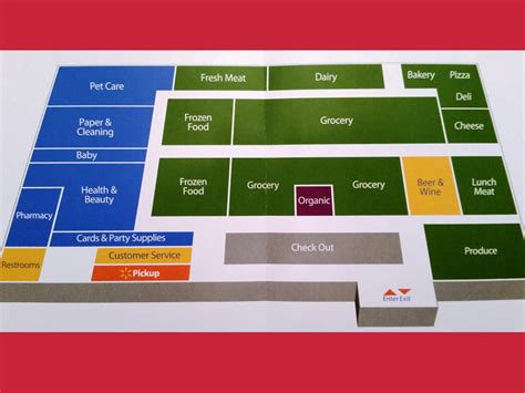 warehouse layout of walmart walmart grocery store layout www pixshark com images