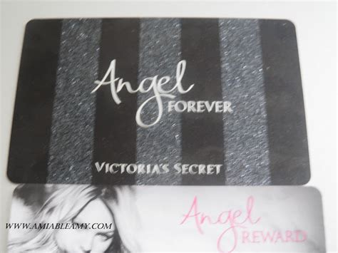 Victoria S Secret Angel Card Birthday Gift - business matters anything that involves around it got my victoria s secret angel