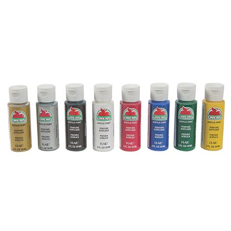 acrylic paint set primary colors trading