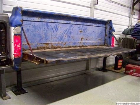 how to make a tailgate bench tailgate bench