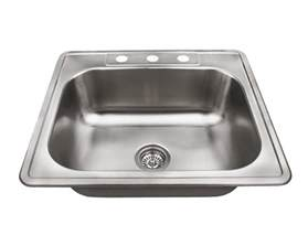 Single Bowl Stainless Kitchen Sink Us1038t Single Bowl Topmount Stainless Steel Sink