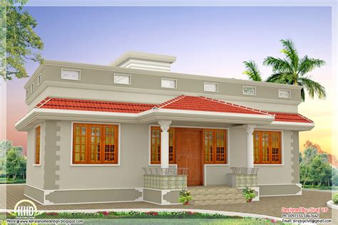 3 bedroom home 1000 sq kerala style single floor 3 bedroom home