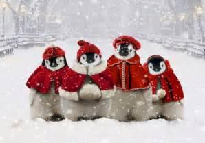 christmas penguins slick men