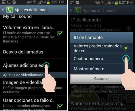 android id c 243 mo ocultar llamadas en android id y n 250 mero android jefe