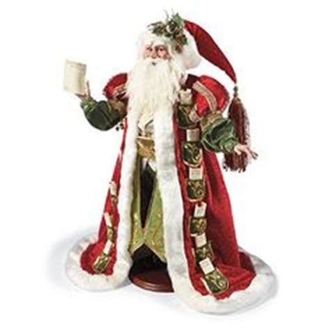 decorating with father christmas figures santa statues on 36 pins