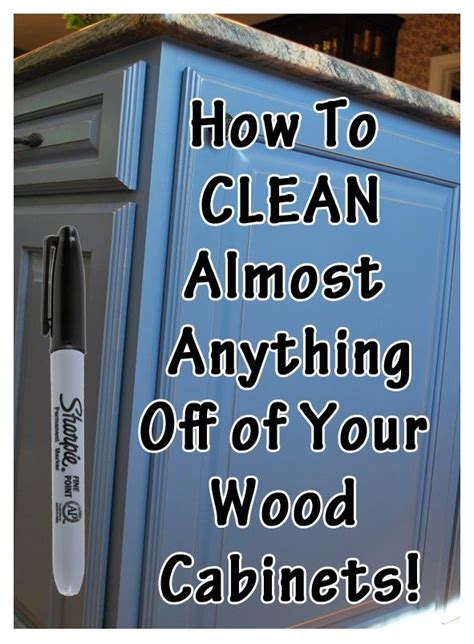 how to clean your kitchen cabinets 17 best ideas about cleaning wood cabinets on pinterest