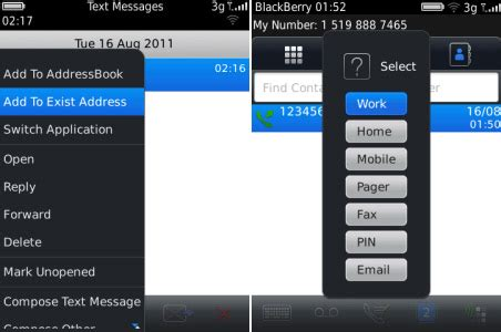 contactext v1.0.0 for blackberry os5.0 apps free