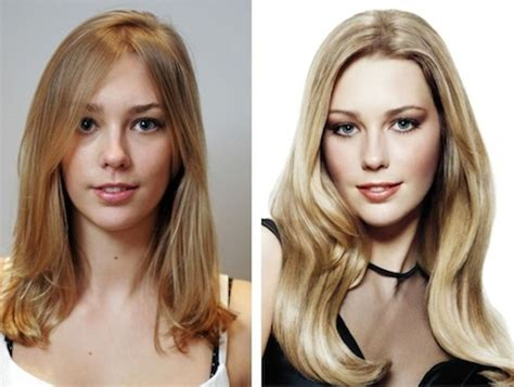 before and after picuters of long to short hair before and after photos hotstyle