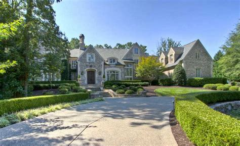 Atlanta Luxury Homes Gated Communities 4 7 Million Gated Mansion In Atlanta Ga Homes Of The Rich