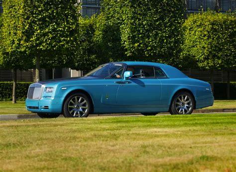 rolls royce phantom blue rolls royce ghawwass phantom coupe special edition