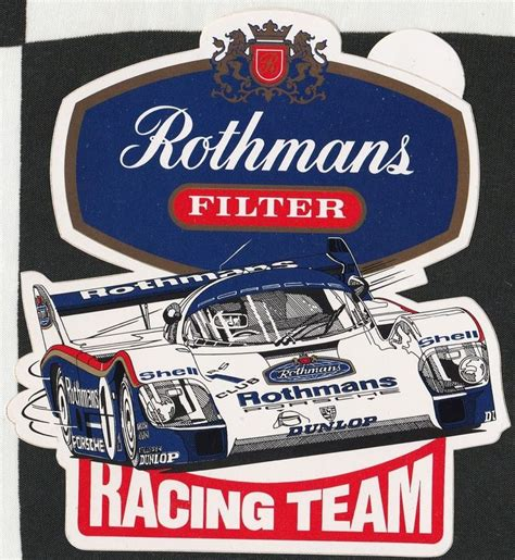 Rothmans Racing Aufkleber by 835 Best Images About Racing Sticker Decals On