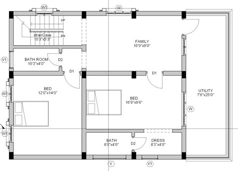 30 x 40 floor plans 24 beautiful 30 215 40 site house plans house plans 53035