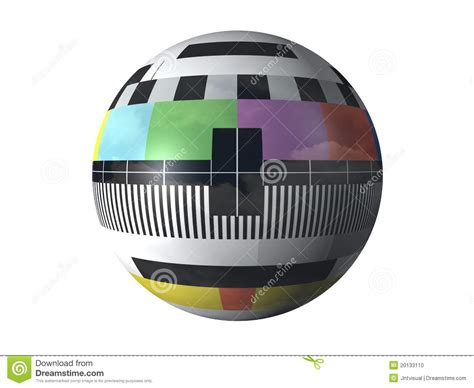test pattern jpg download 3d television test pattern stock illustration