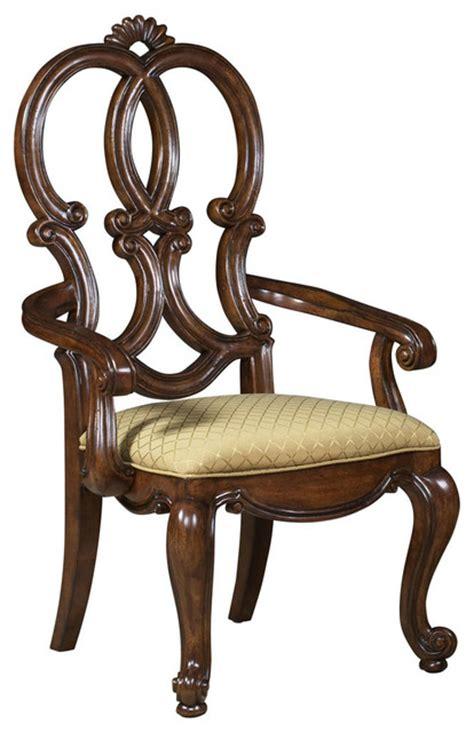 Mediterranean Chairs by Viniterra Carved Back Chair Mediterranean Dining