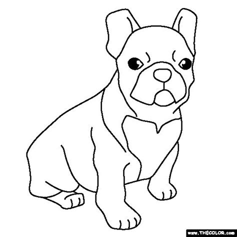 baby bulldogs coloring pages french bulldog puppy coloring page crafts digi sts