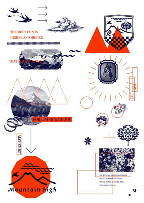 graphic design layout work mountain high 2012 art art director cover artwork visual