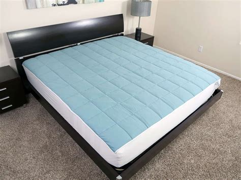 Sleeping On Bad Mattress by Slumber Cloud Nacreous Mattress Pad Review Sleepopolis