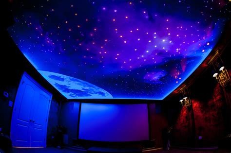 home theater sky ceiling project modern chicago