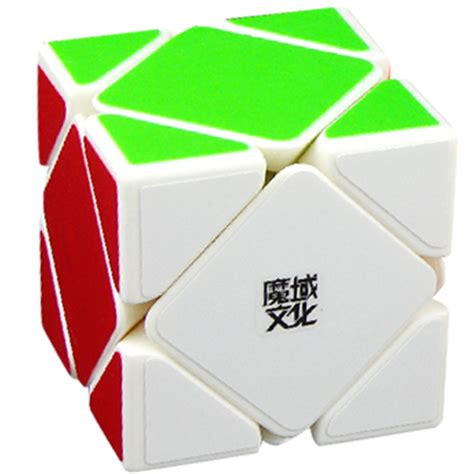 moyu magnetic positioning skewb speed cube white skewb cubezz professional puzzle store for