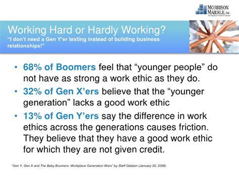 Generation Y Essay by Generation Y Work Ethic Essay