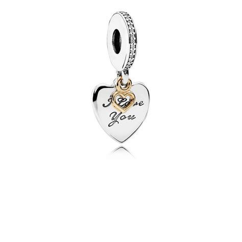 You Noticed These Necklaces With Charms by I You Forever Pendant Charm Pandora Uk Pandora Estore