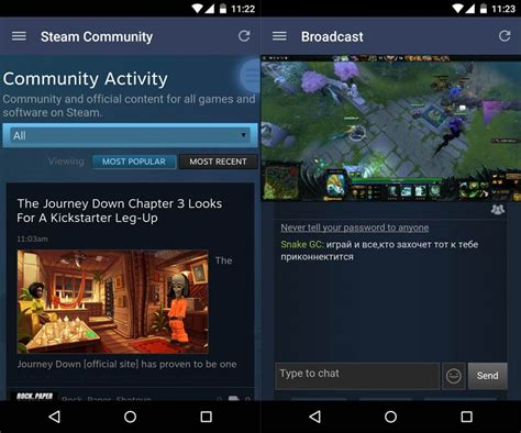 steam android steam for android adds all the features of the web client