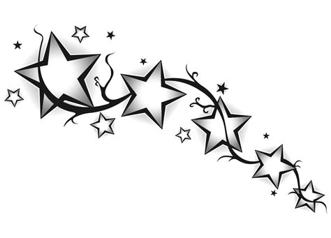 tribal stars tattoo design designs the is a canvas