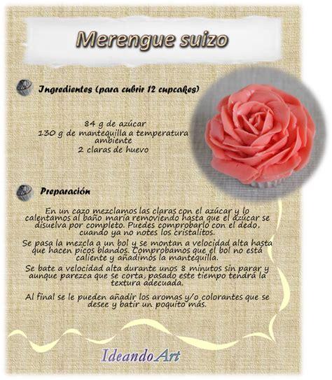 ideandoart receta merengue suizo