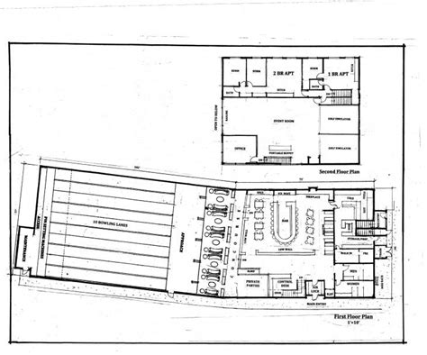 house plans with bowling alley bowling alley building plans bing images