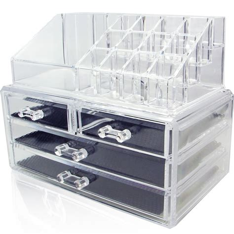 Clear Drawers by Lolandostor Clear Acrylic Makeup Storage Drawer Costmetics