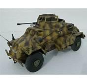 1/18 Scale Custom Ultimate Soldier German 222 Armoured Car