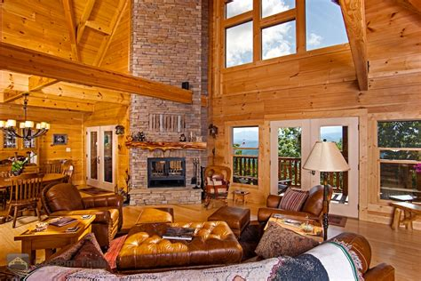 Interior Pictures Of Log Homes Log Home Interior Pictures Custom Timber Log Homes