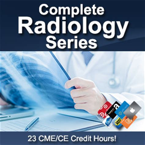 Cme Gift Card - radiology series cme procedures