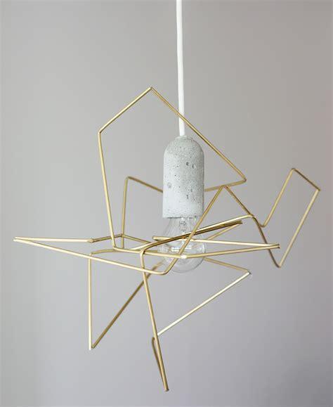 Diy Pendant Light Shade Weekdaycarnival Diy Geometric Lshade