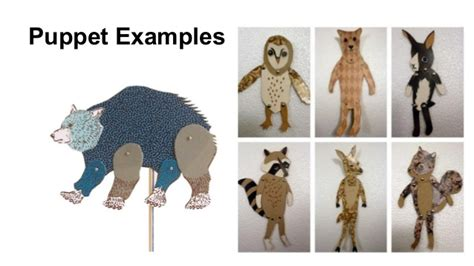 How To Make A Puppet With Paper - paper puppets