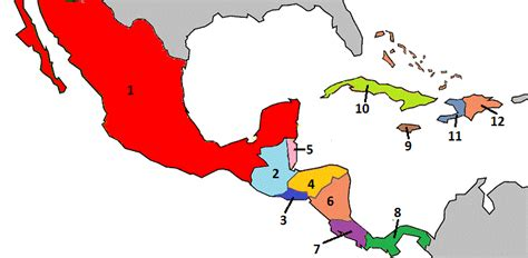 central america map quiz enter answers into input boxes then click grade my quiz