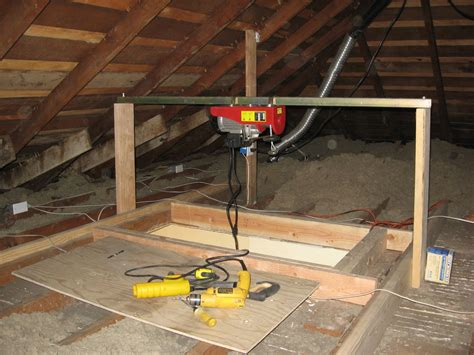 How To Install A Hoist In Garage by Attic Access 2006 Phillip Norman Attic Access
