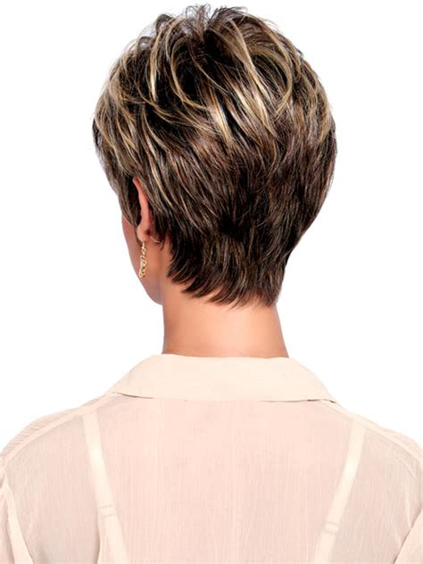 back view of short haircuts older women tapered hair back view design short hairstyle 2013