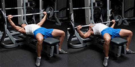 wide arm bench press wide grip barbell bench press weight training exercises