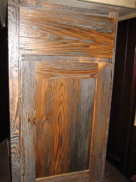Barnwood Cabinet Doors Barn Wood Cabinet Door Barn Woods Pinterest