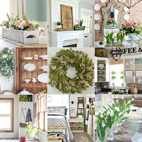 spring decor ideas home stories