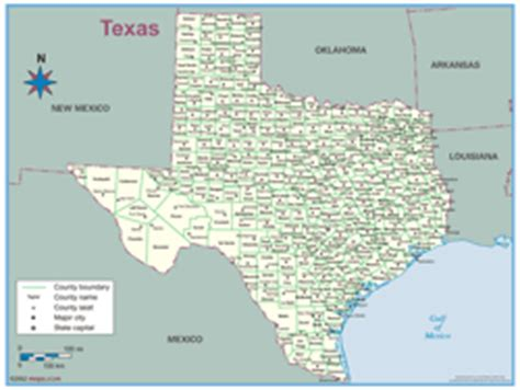 product map of texas texas county outline wall map by maps