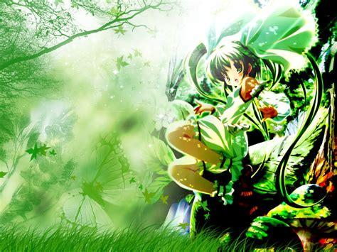 wallpaper green anime anime wallpaper green paradise minitokyo