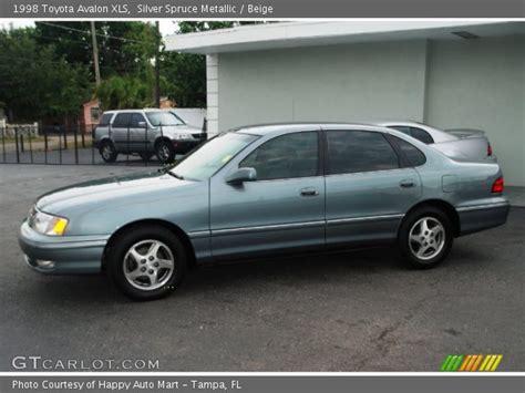 1998 Toyota Avalon Xls Silver Spruce Metallic 1998 Toyota Avalon Xls Beige