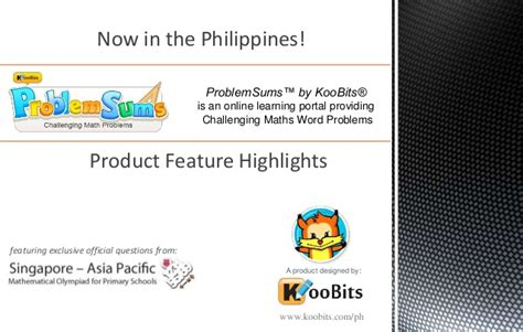 online tutorial in the philippines koobits maths feature highlights philippines