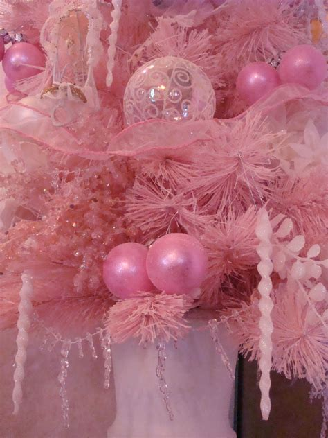 a pocket full of roses small pink christmas tree