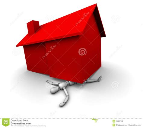can i buy a house under my business name person crushed under house made of money royalty free cartoon cartoondealer com