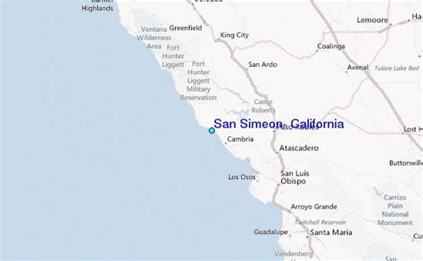 san simeon california map san simeon california tide station location guide