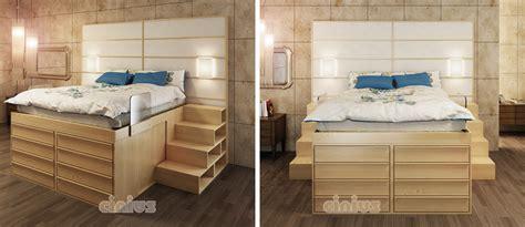letti a con scala a cassetti scaletta con cassetti design casa creativa e mobili